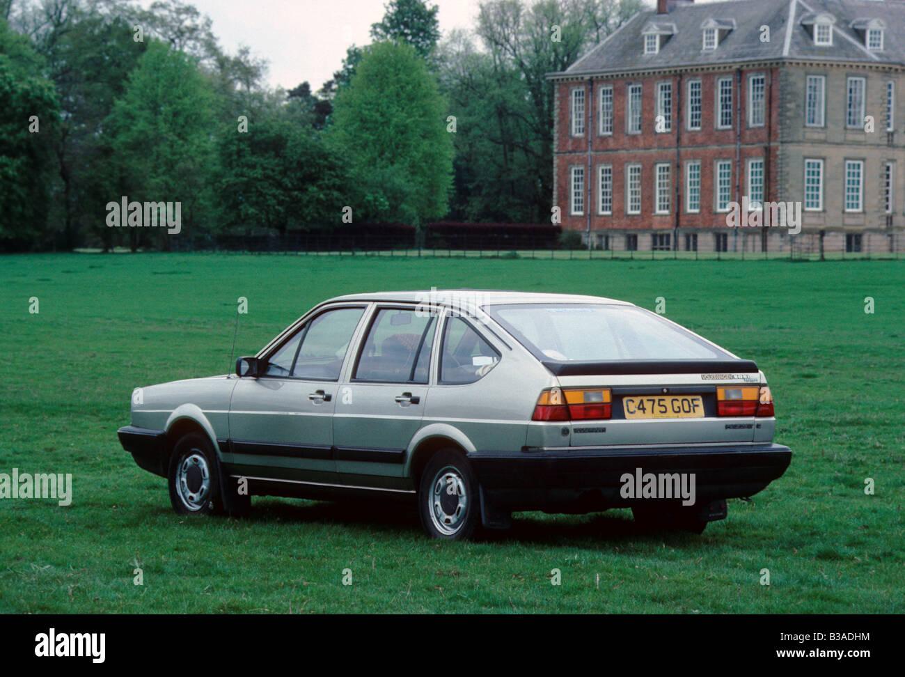 Volkswagen Passat Hatchback Of 1985 Model Years 1980 88