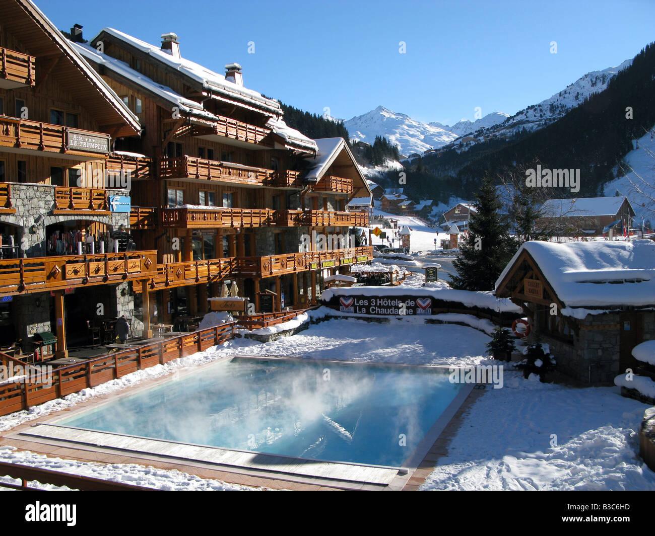 Hotel Piscine Meribel