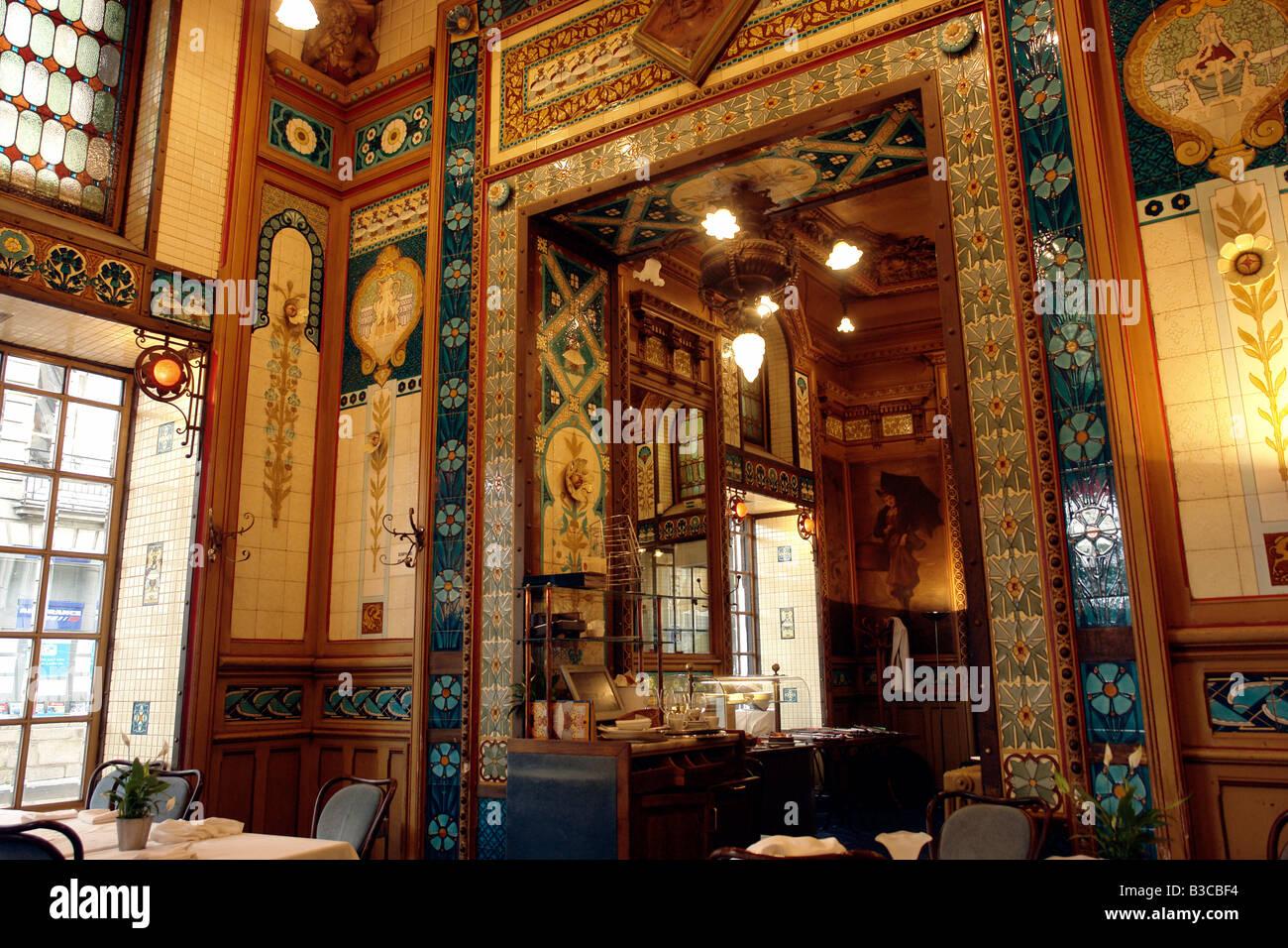 France Nantes Loire Atlantique The restaurant La Cigale an art ...