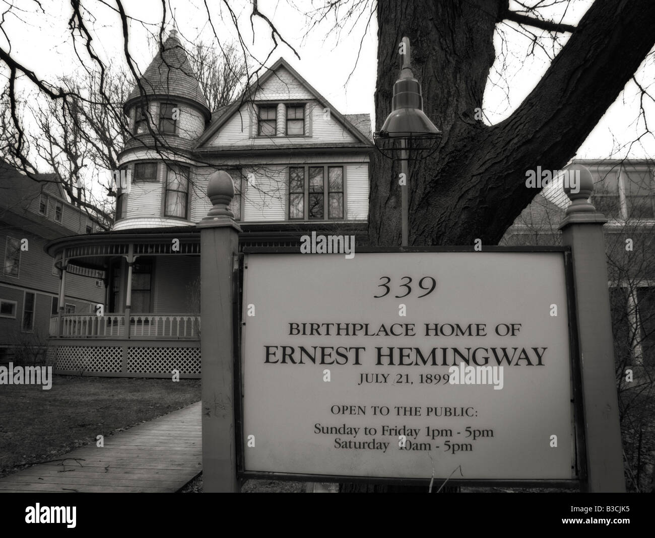 Ernest Hemingway Birthplace Home Oak Park Cook County Illinois USA