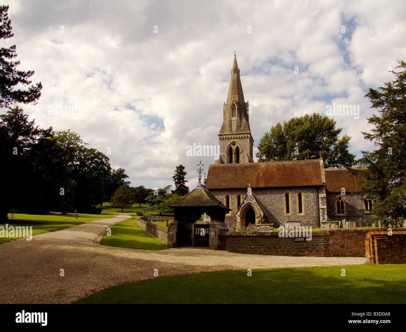 Saint mark s church englefield berkshire stock photo St mark s church englefield
