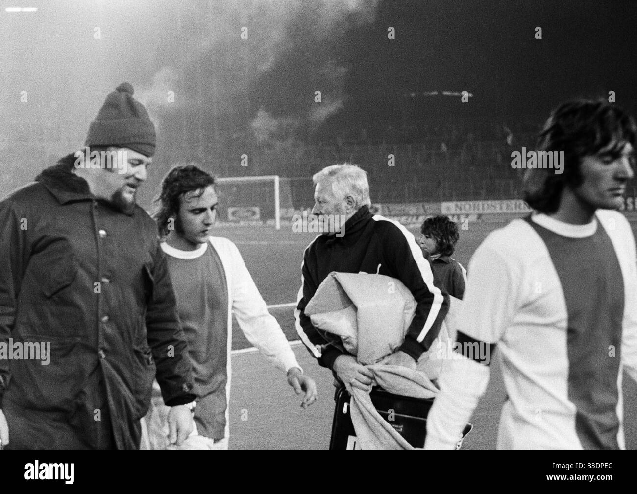 football friendly game 1972 Rhine Stadium in Duesseldorf