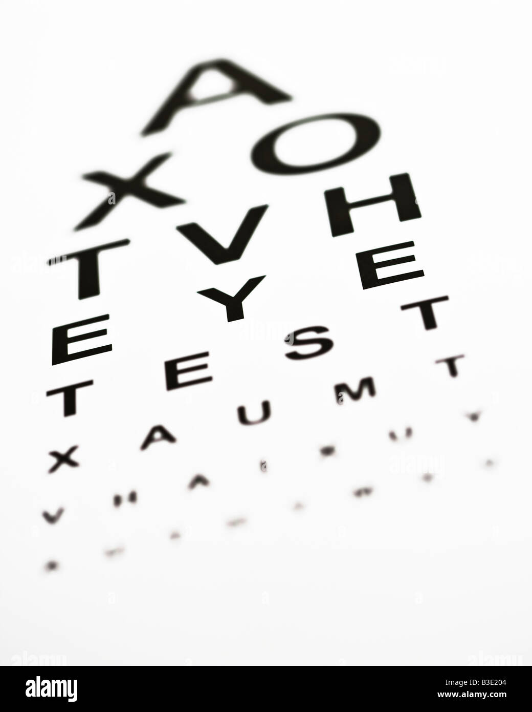 Variation of a optometrists eye chart with the words eye test being variation of a optometrists eye chart with the words eye test being visible nvjuhfo Gallery