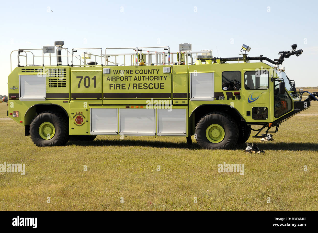 A Wayne County Michigan Airport S Fire Department S