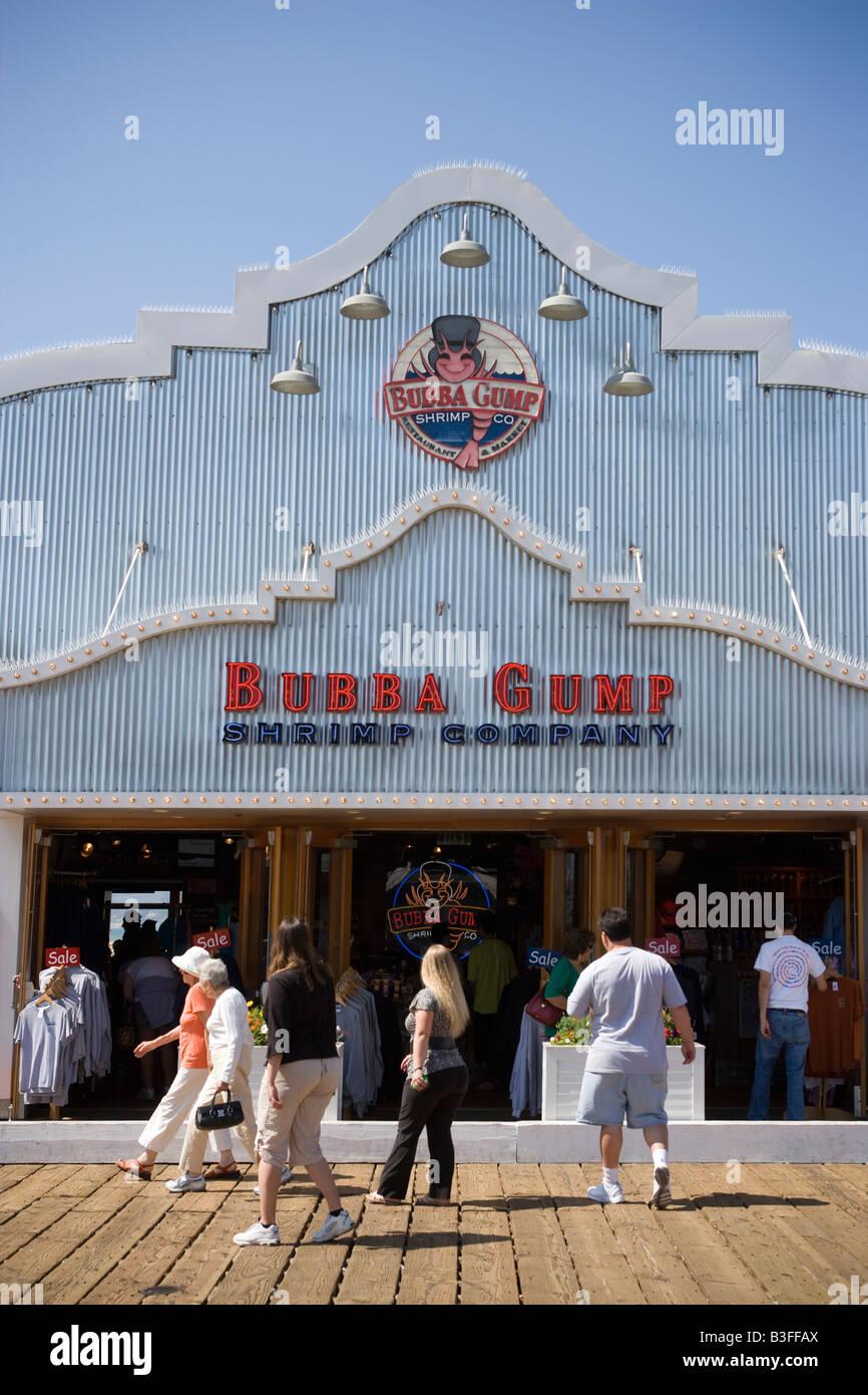 Bubba gumps seafood restaurant santa monica pier los for Santa monica fish company