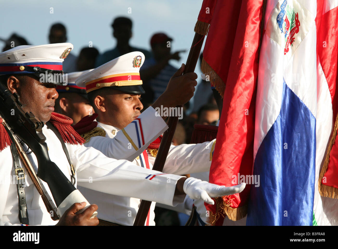 Military Parade On The Independence Day In Santo Domingo - Dominican republic independence day