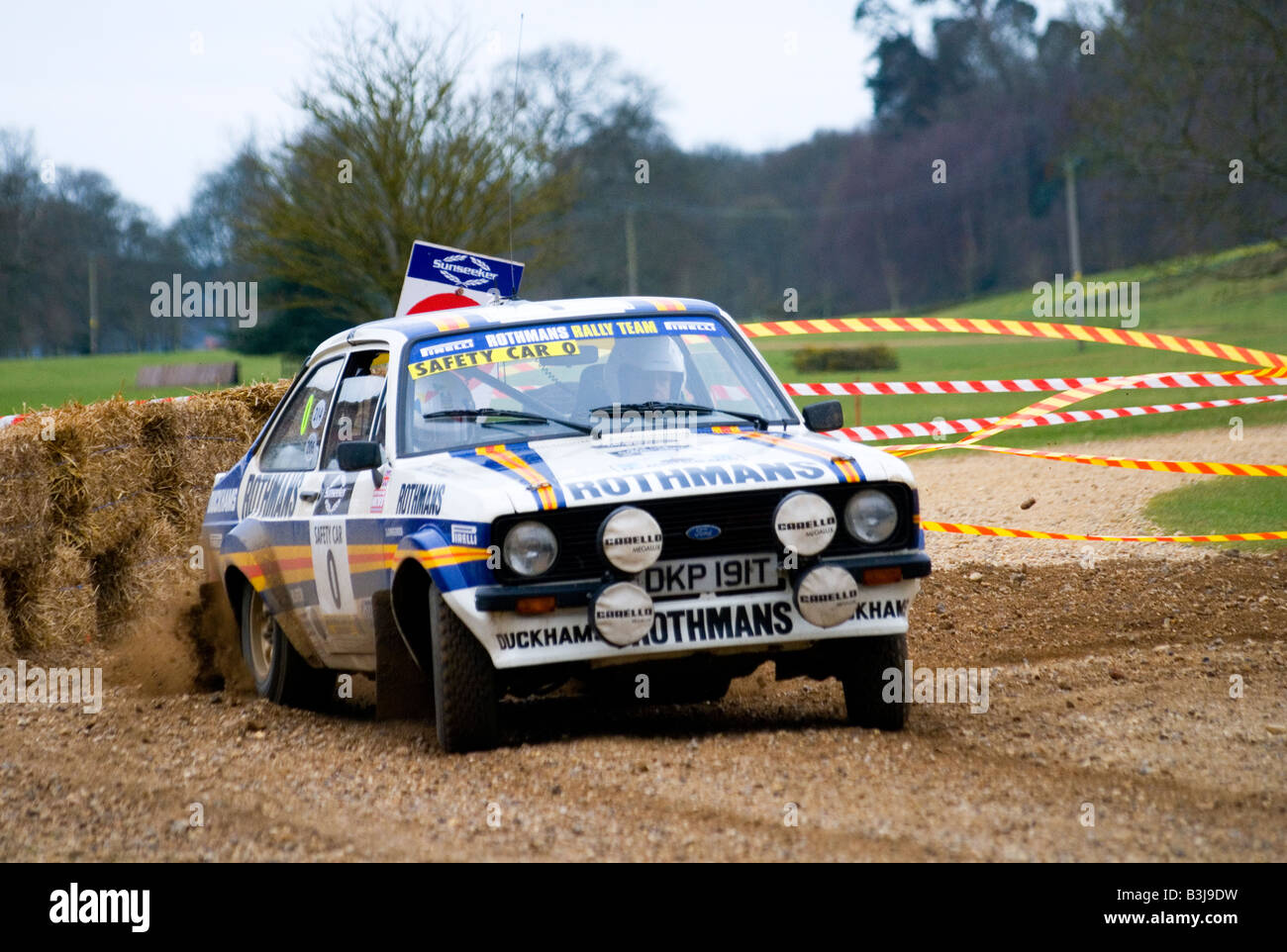 Rothmans Ford Escort MK2 Rally Car Stock Photo: 19456917 - Alamy