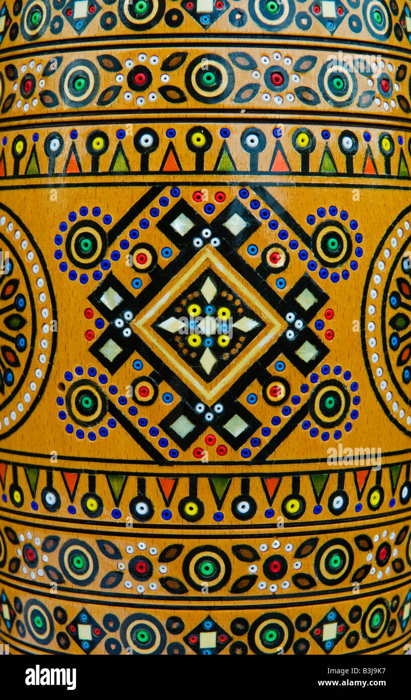 Western arts and crafts - Wood Inlay Ornament Of Traditional Hutsul Arts And Crafts From The Carpathian Mountains Western Ukraine