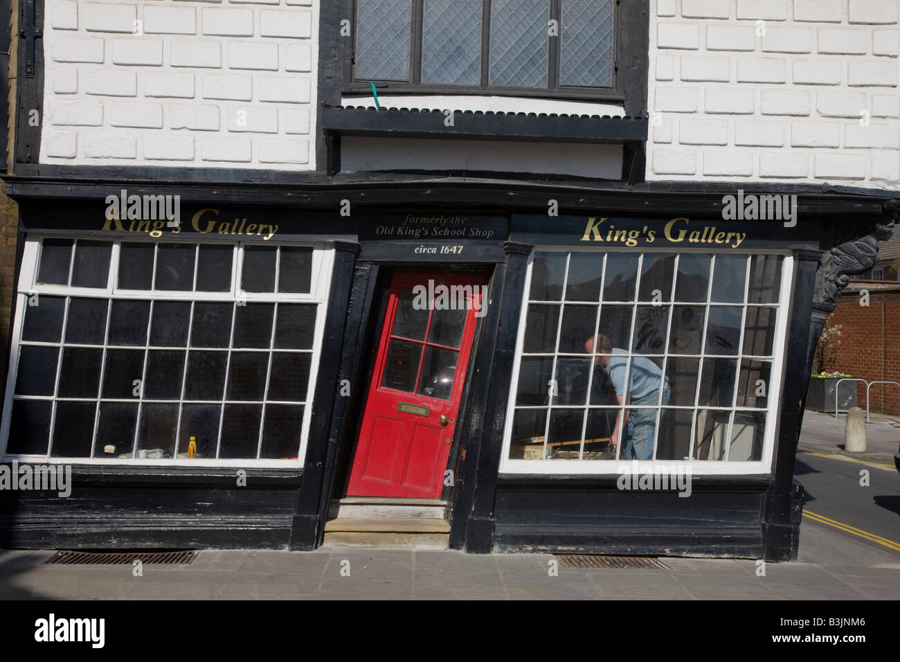 Old shop with crooked front door and windows & Old shop with crooked front door and windows Stock Photo: 19466502 ...