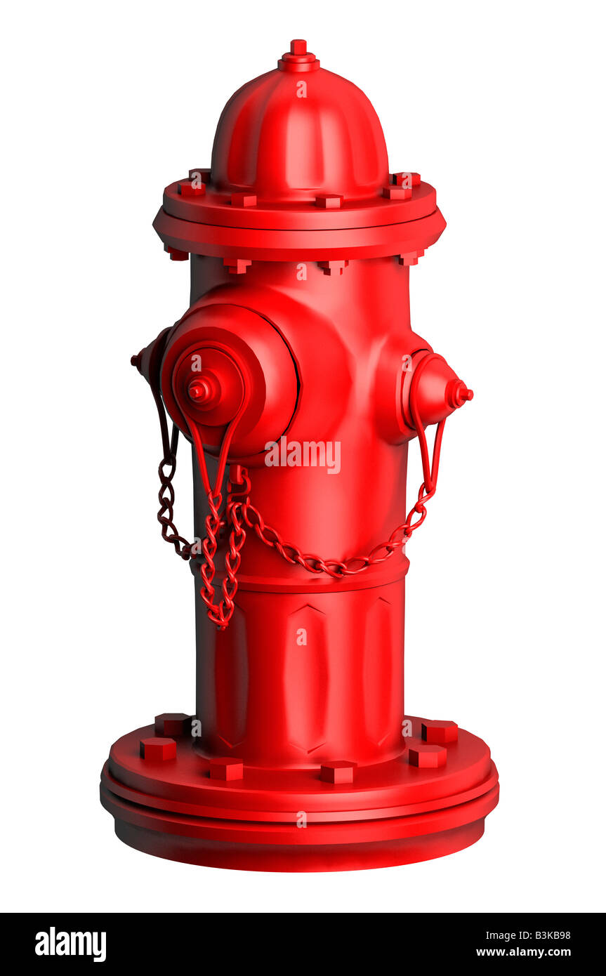 Red fire hydrant water faucet Stock Photo: 19480308 - Alamy