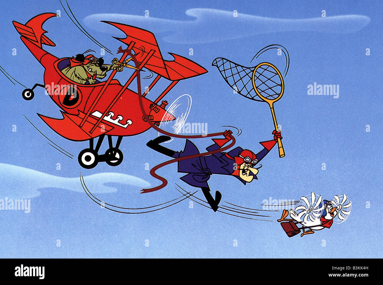 dastardly and muttley in their flying machines 1969 hanna barbera tv
