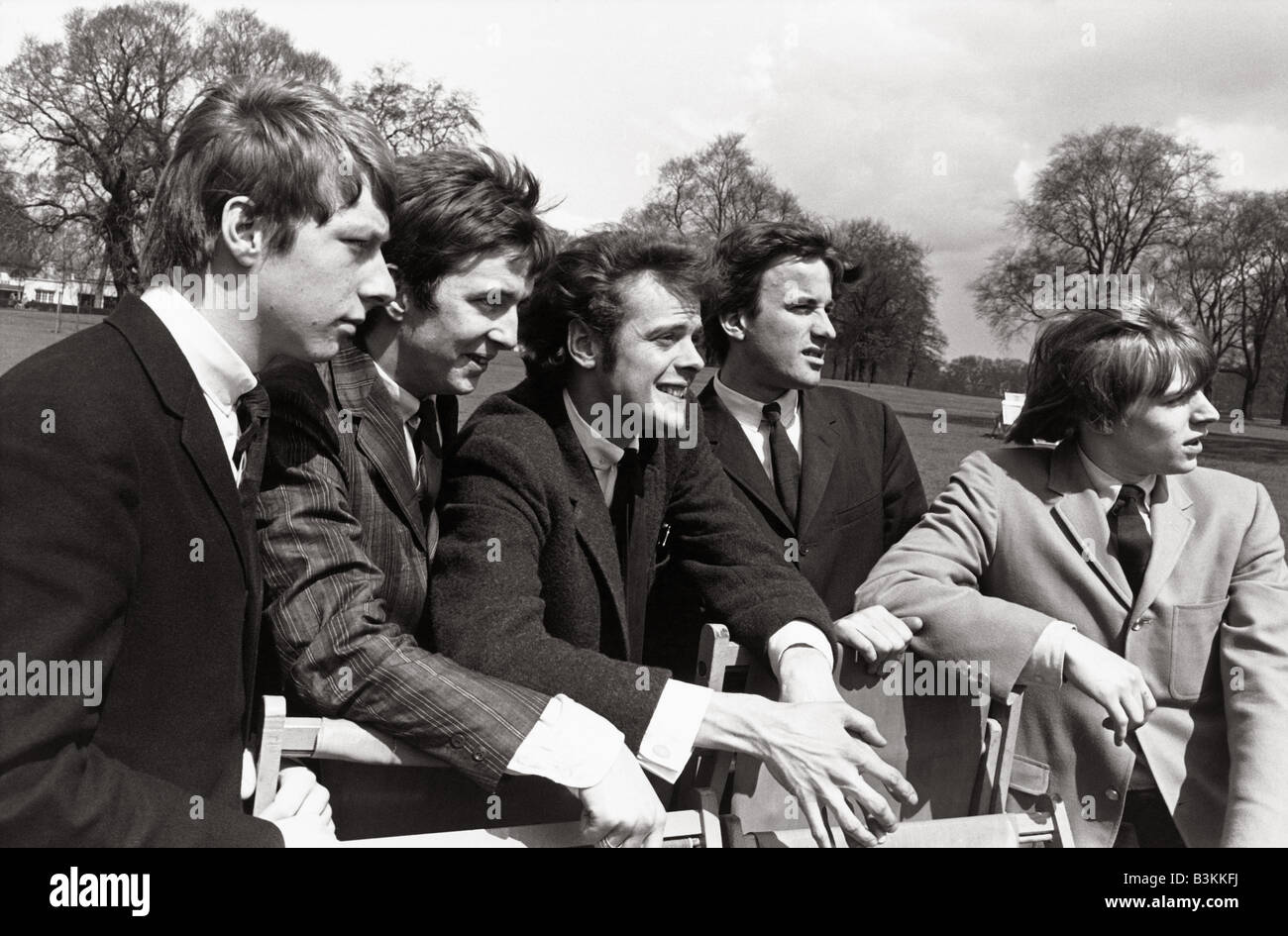 yardbirds uk pop group in hyde park london 23 april 1964 l r chris stock photo royalty free. Black Bedroom Furniture Sets. Home Design Ideas