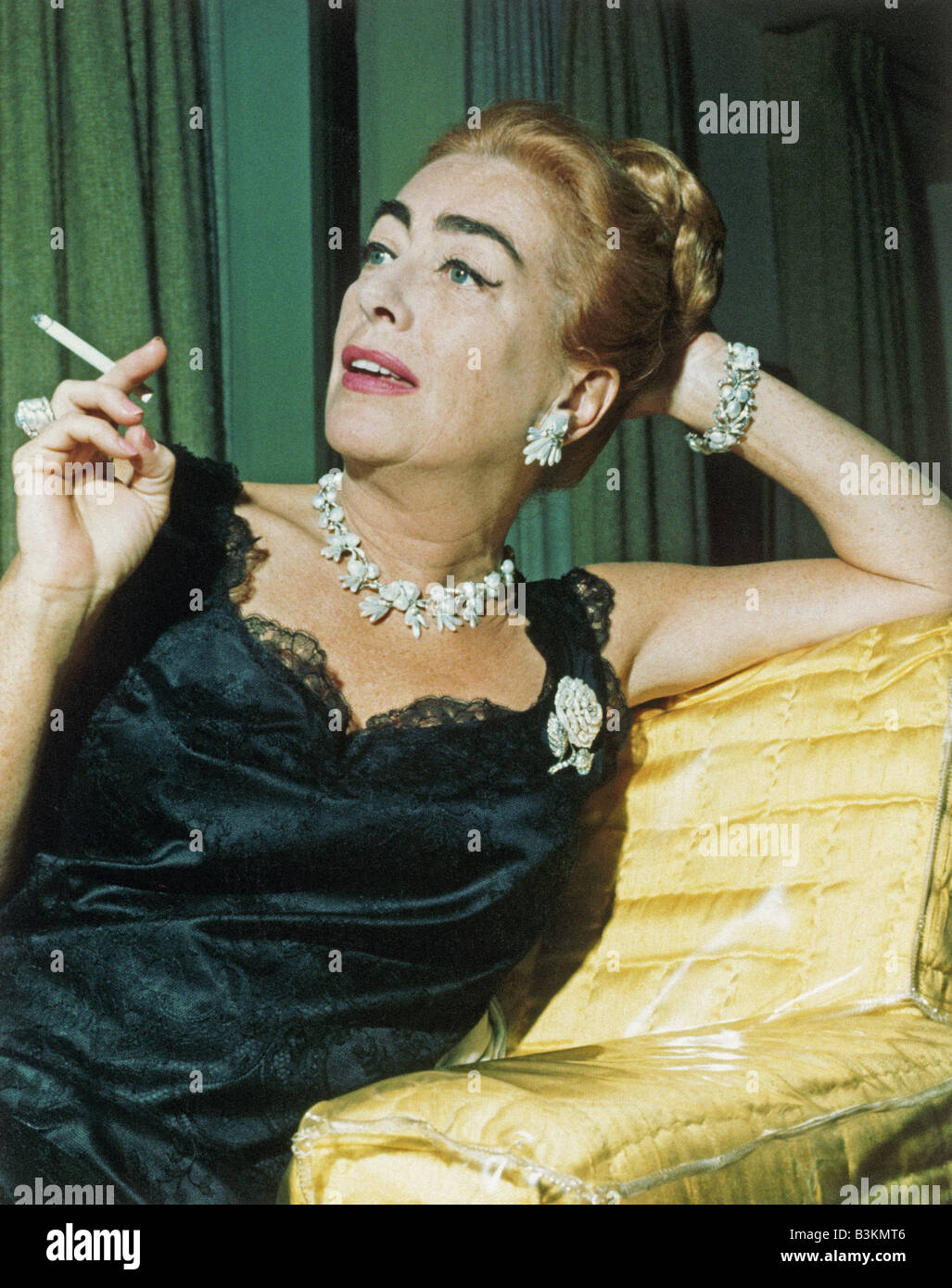 Joan Crawford Us Film Actress Stock Photo Royalty Free