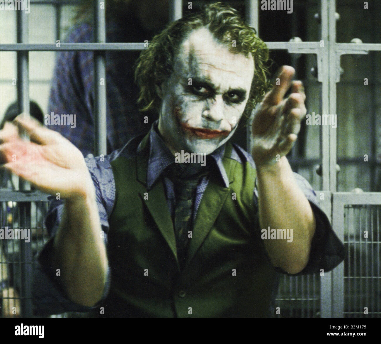 the dark knight 2008 warner film with heath ledger as the