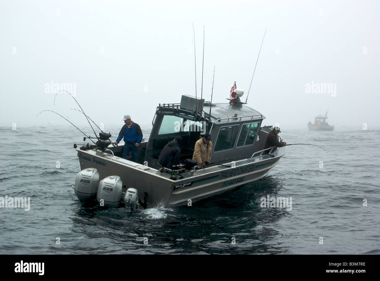Aluminum sport fishing charter boat halibut fishing in for Metal fishing boat
