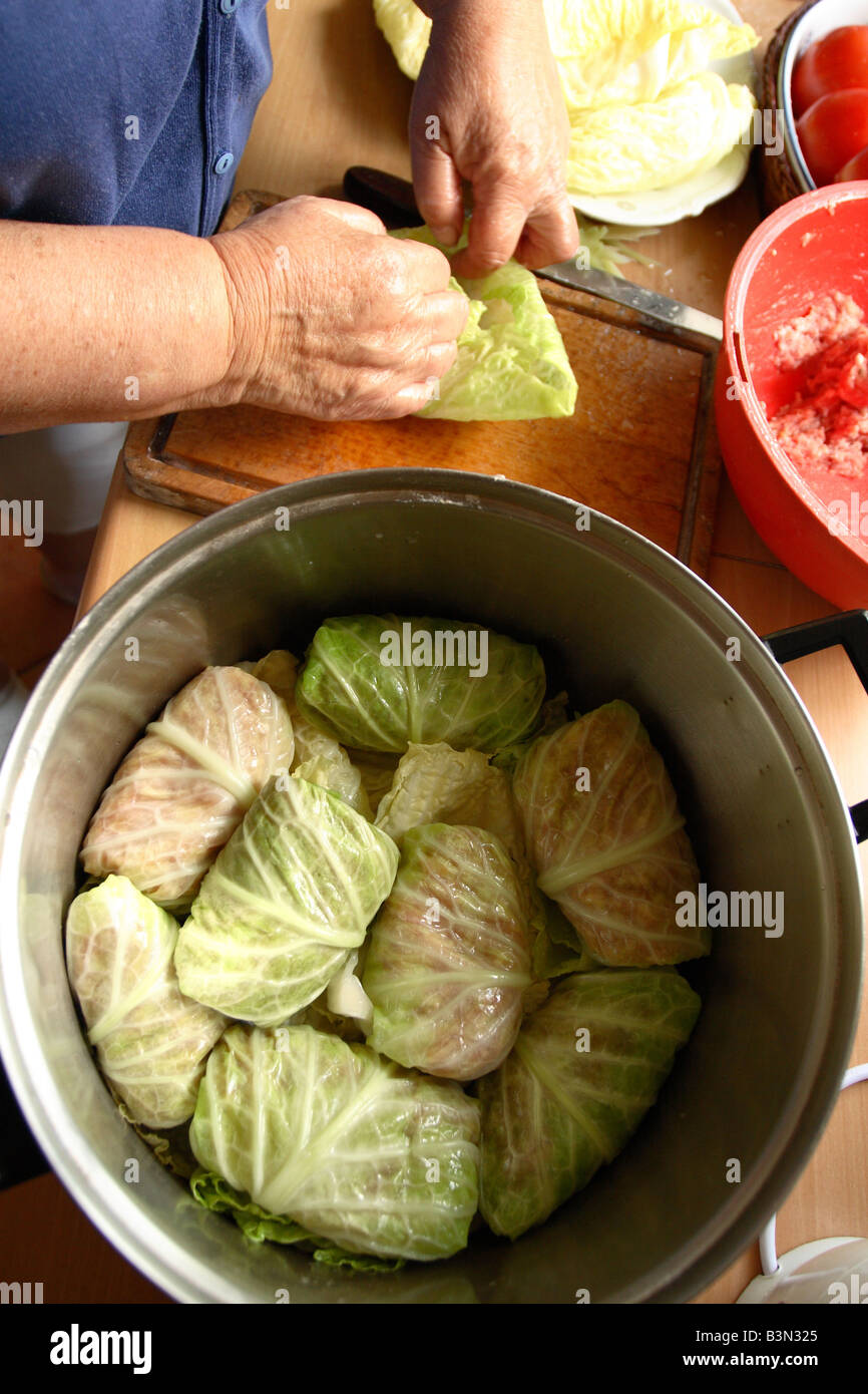 Golabki traditional polish food rolled cabbage leaf for Authentic polish cuisine