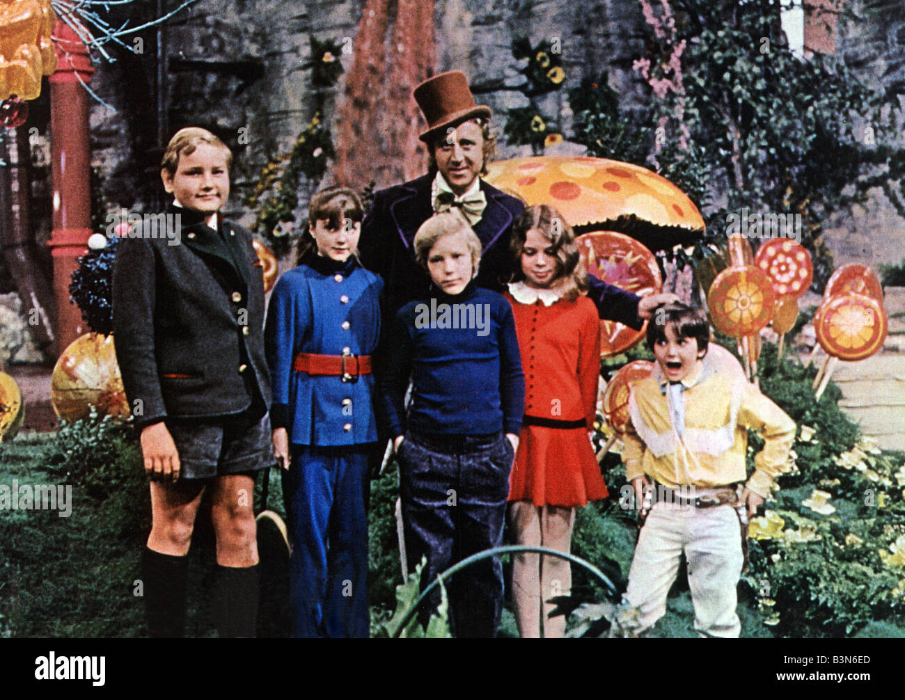 WILLY WONKA AND THE CHOCOLATE FACTORY 1971 David Wolper film with ...