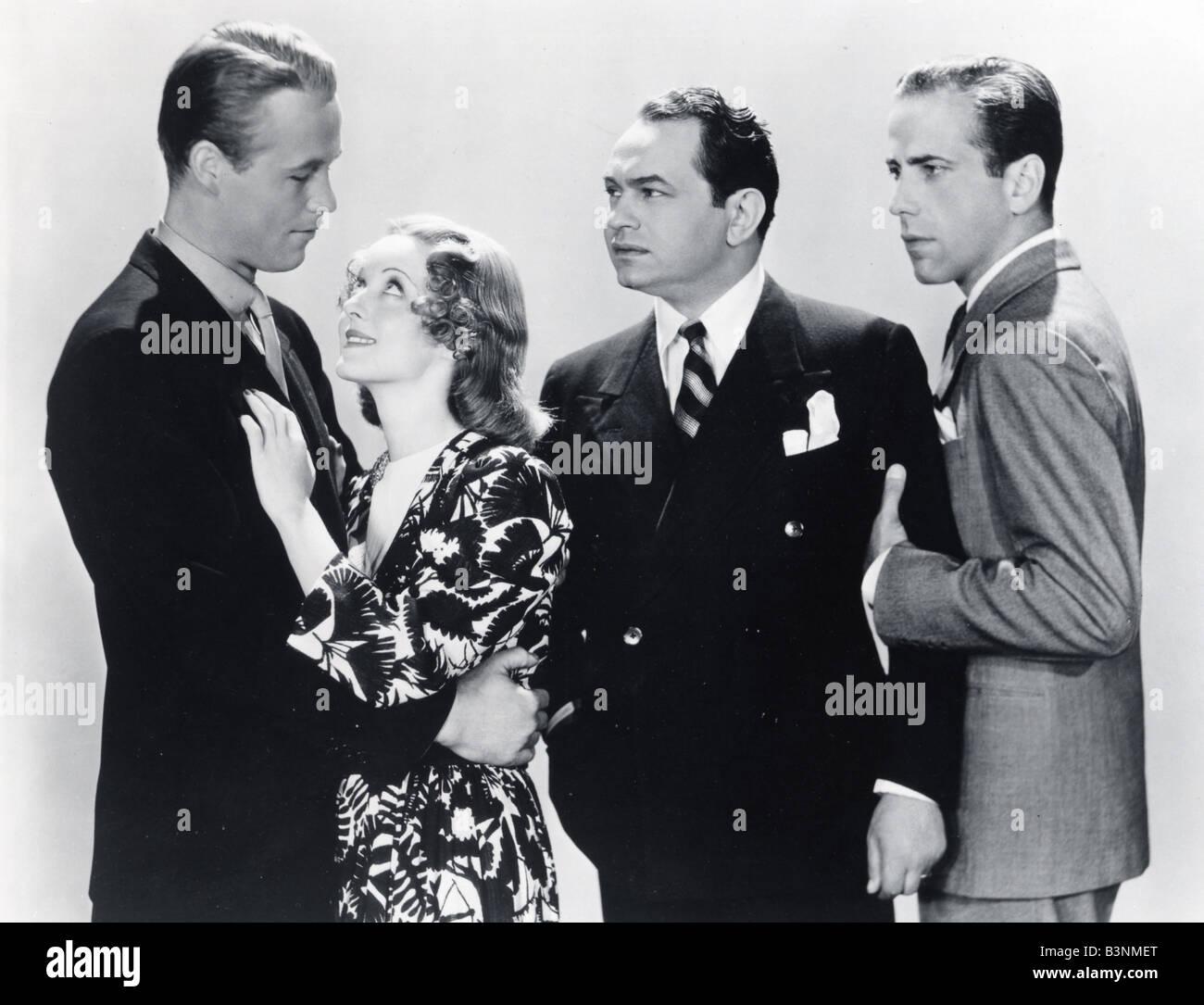 KID GALAHAD 1937 Warner Film With From Right Humphrey
