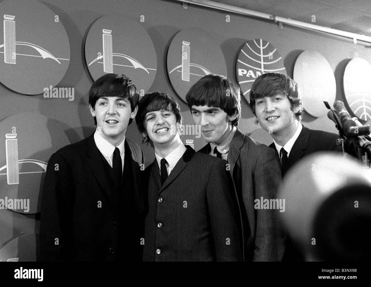 the beatles february 1964 paul mccartney ringo starr
