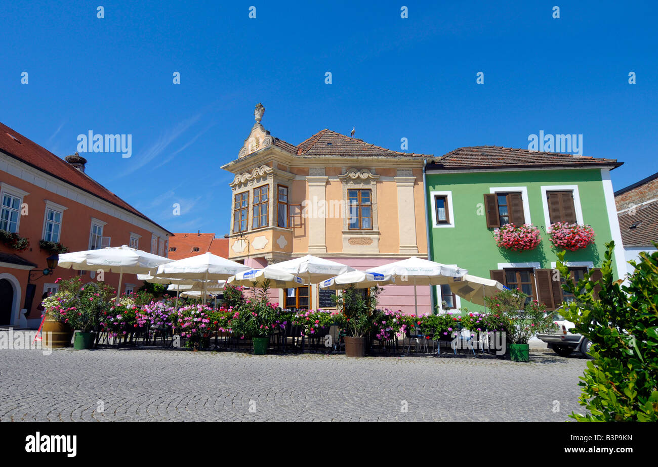 Rust neusiedlersee  Village of Rust Neusiedlersee, Austria Stock Photo, Royalty Free ...