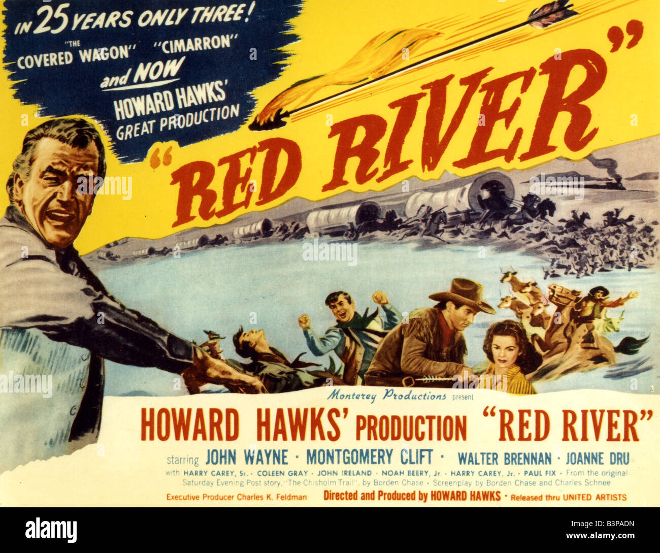 a summary of the movie red river in 1948 A john wayne movie review page for red river (1948.