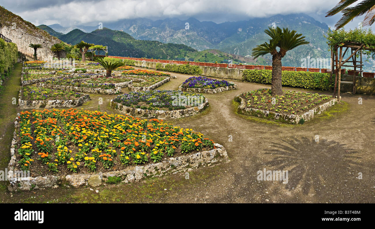 Villa Rufolo Gardens Ravello Italy Stock Photo Royalty