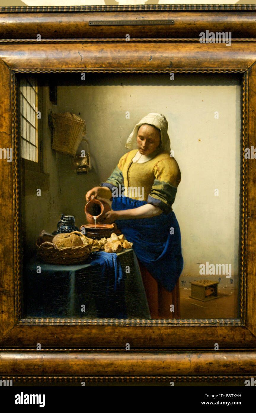 Europe, Netherlands, Holland, Amsterdam, Jan Vermeer\'s The Kitchen ...