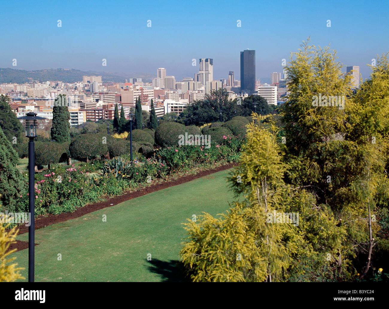 South Africa Gauteng Pretoria A View Of Pretoria The Capital - What is the capital of south africa