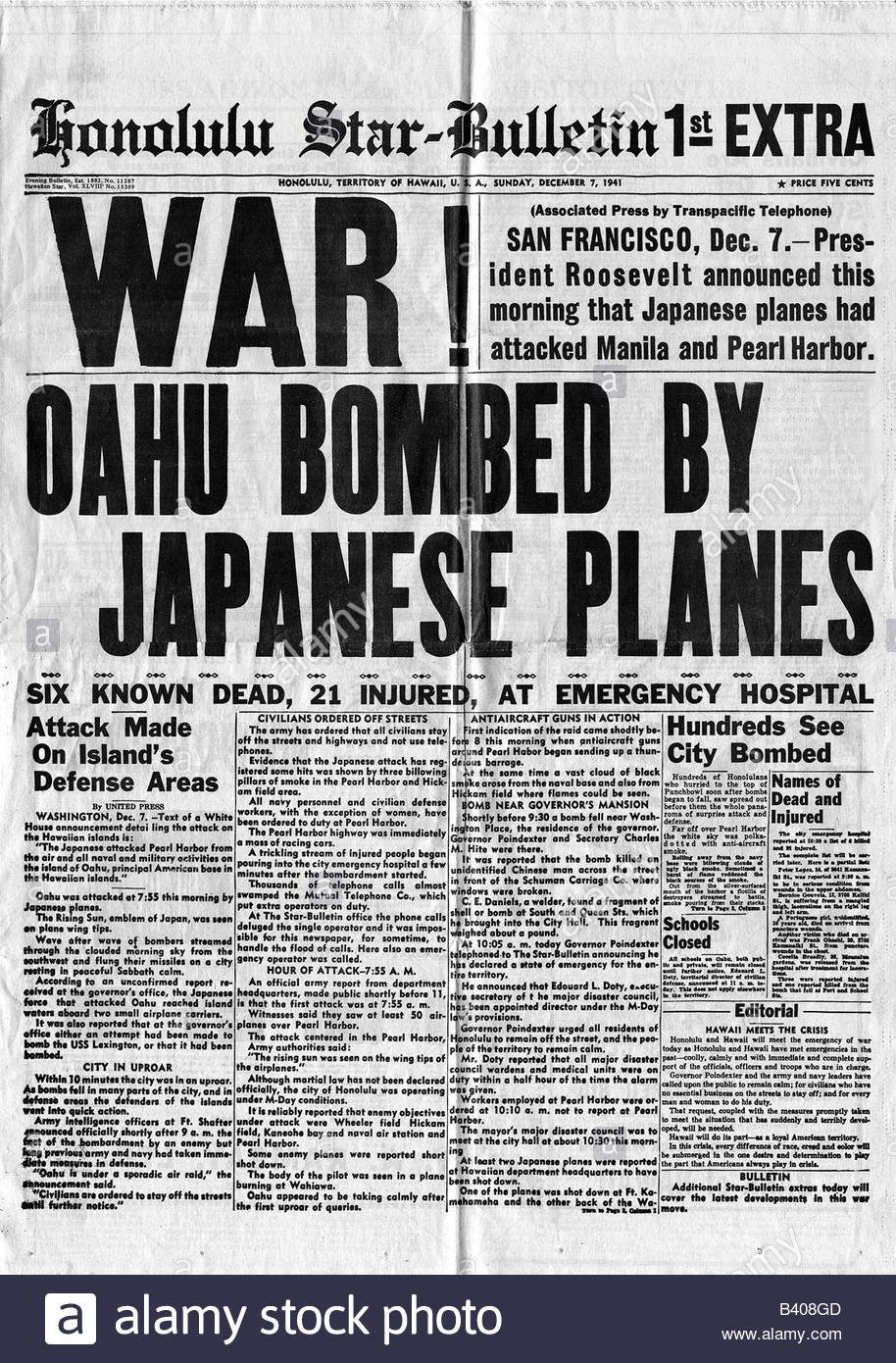 pearl harbor essay Pearl harbor essay japan's surprise attack on the us naval base at pearl harbor, hawaii, on the morning of december 7, 1941, resulted in one of the most costly defeats in american history over 2,000 american military and civilian personnel were killed as a result of the attack, and all eight of the us battleships moored in pearl harbor.