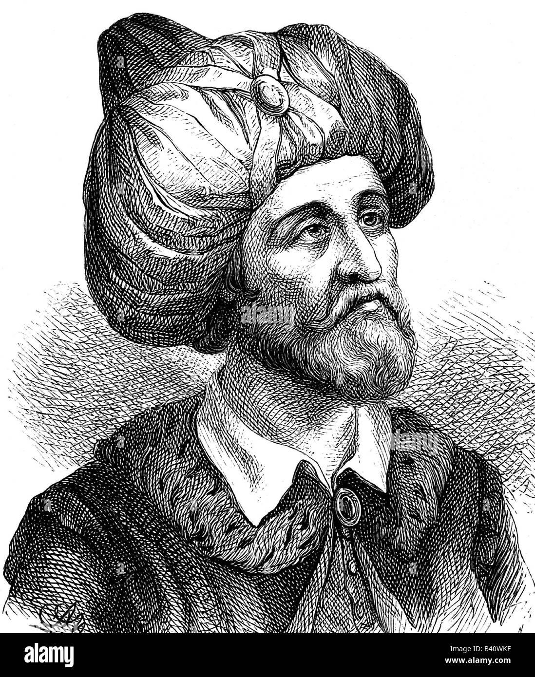 Muhammad (Abu al Kasim Muhammad ibn Abdallah), circa 570 - 8.6.632, Arabian Prophet, founder of Islam, portrait, engraving, 19th century, religion, , Additional-Rights-Clearances-NA
