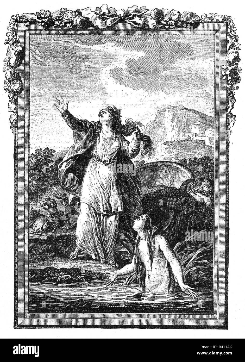 Demeter greek goddess of grain and fertility copper engraving demeter greek goddess of grain and fertility copper engraving 18th century ceres mythology religion paganism deity anci buycottarizona Image collections