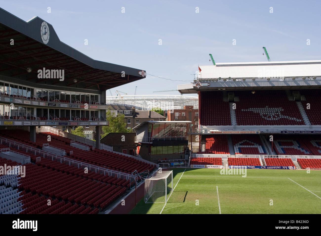arsenal art deco highbury islington football stadium north london