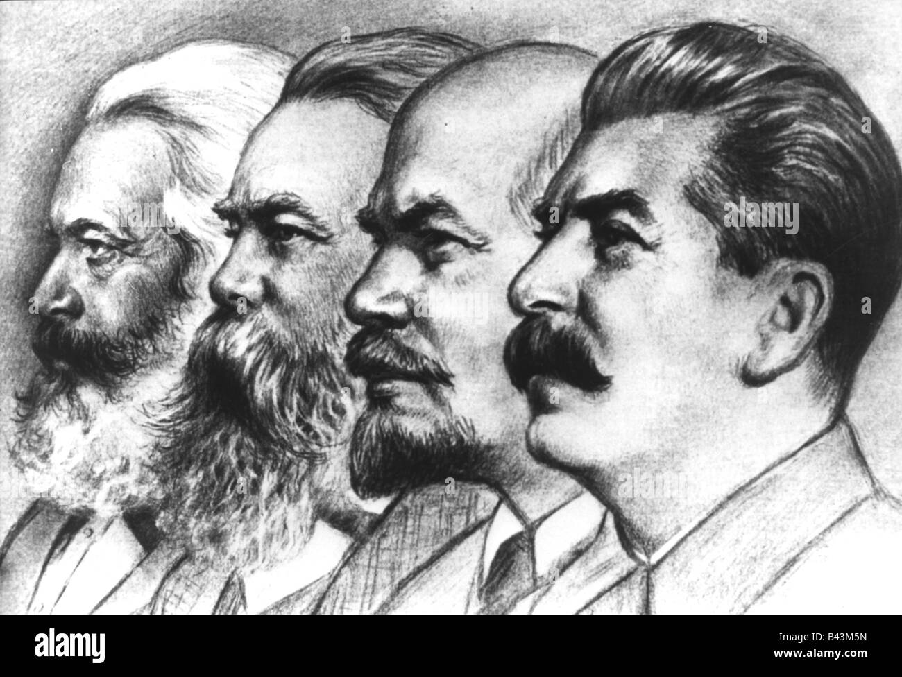 politics, communism, Karl Marx, (1818-1883), Friedrich ...