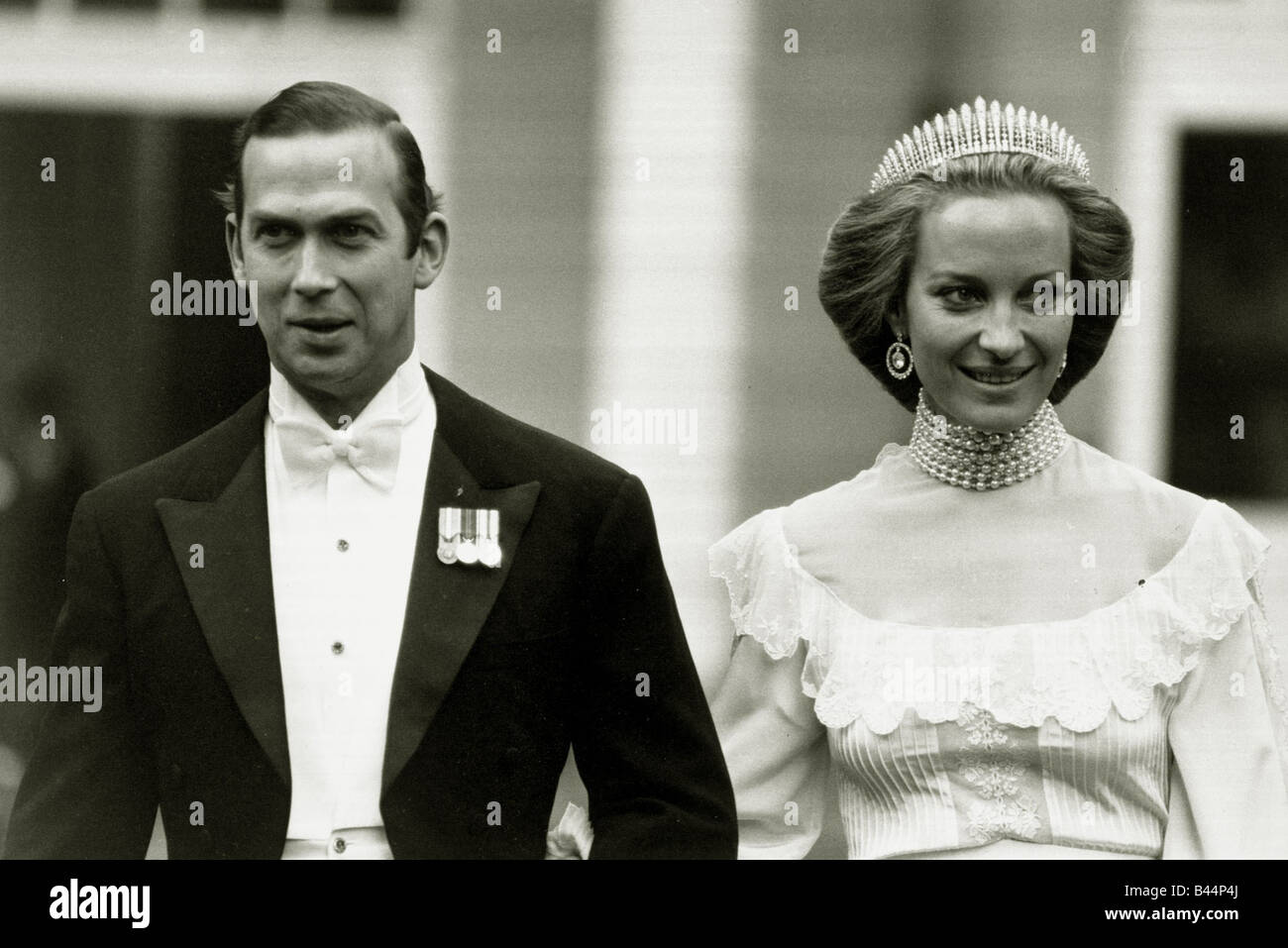 Prince Michael Of Kent And His Bride Marie Christine Von