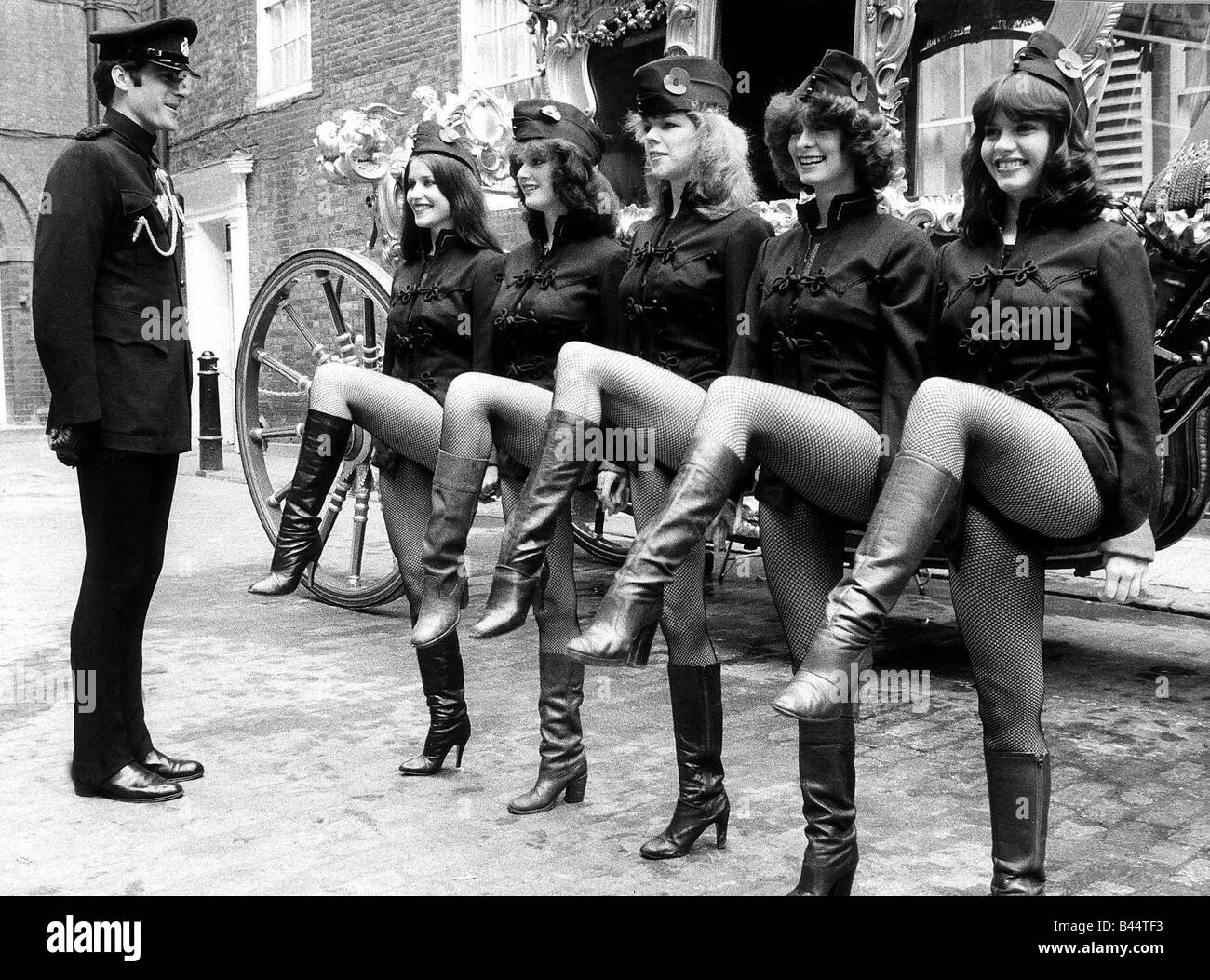 Pans People Dancers Pans People Have Joined Up The Territorial ...