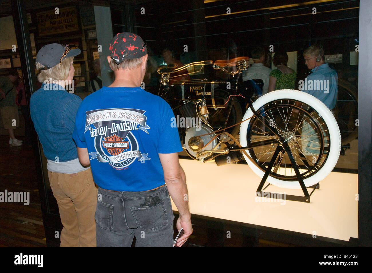 Oldest HarleyDavidson Serial Number One On Display At The Stock - Oldest museums in usa