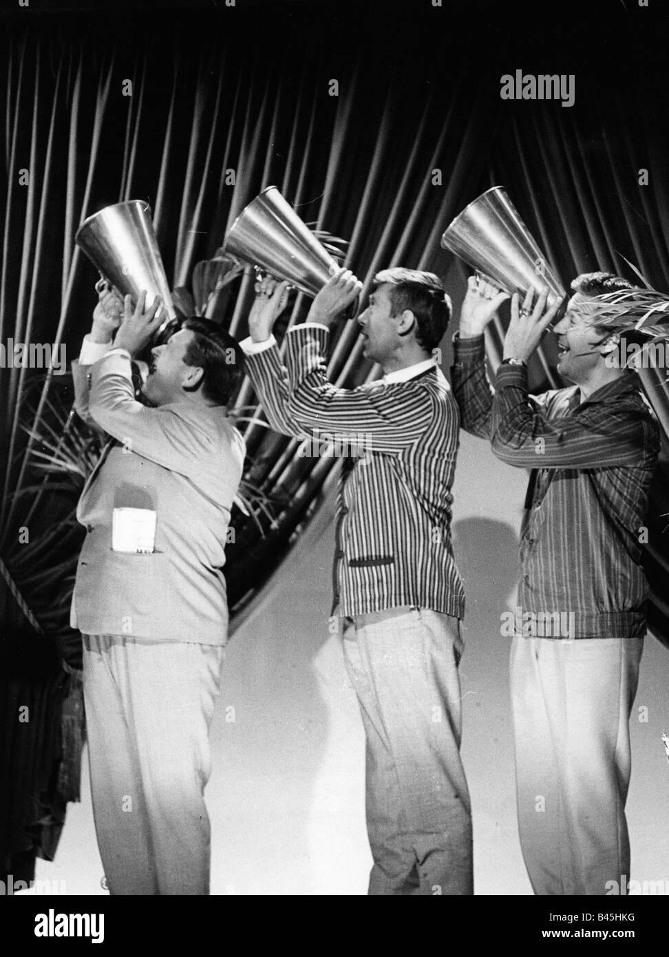 Band Bavarian performance group have