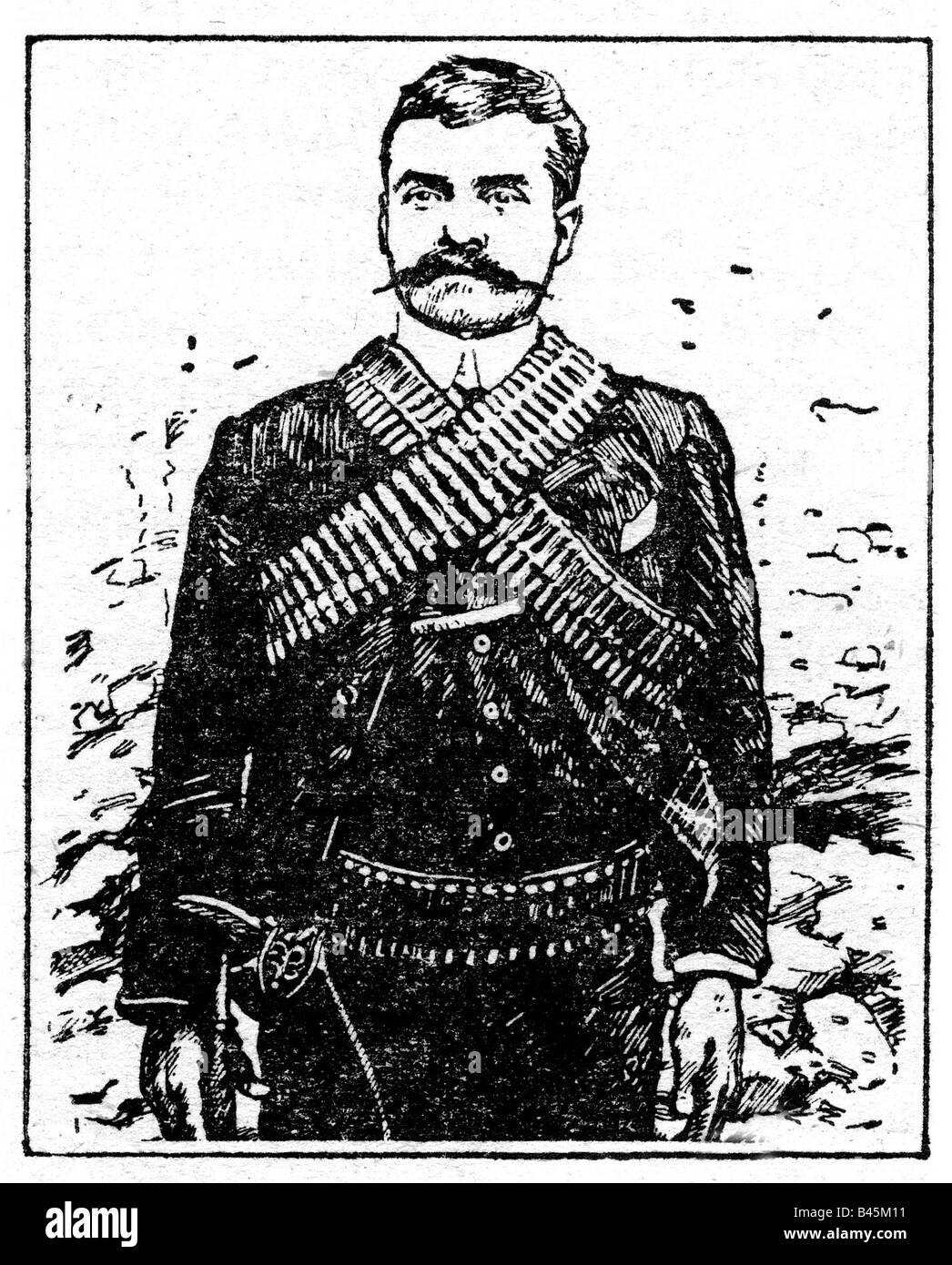 Emiliano Zapata Drawings