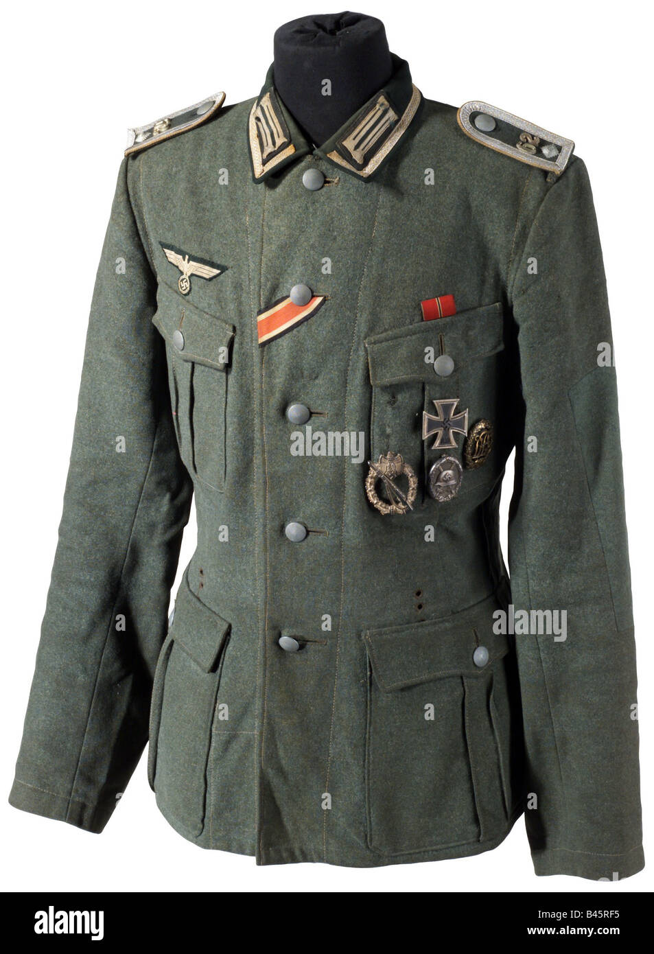 military uniforms germany army infantry tunic of a