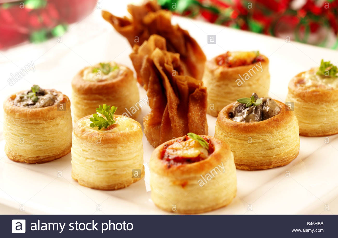 Filo pastry canapes for Puff pastry canape