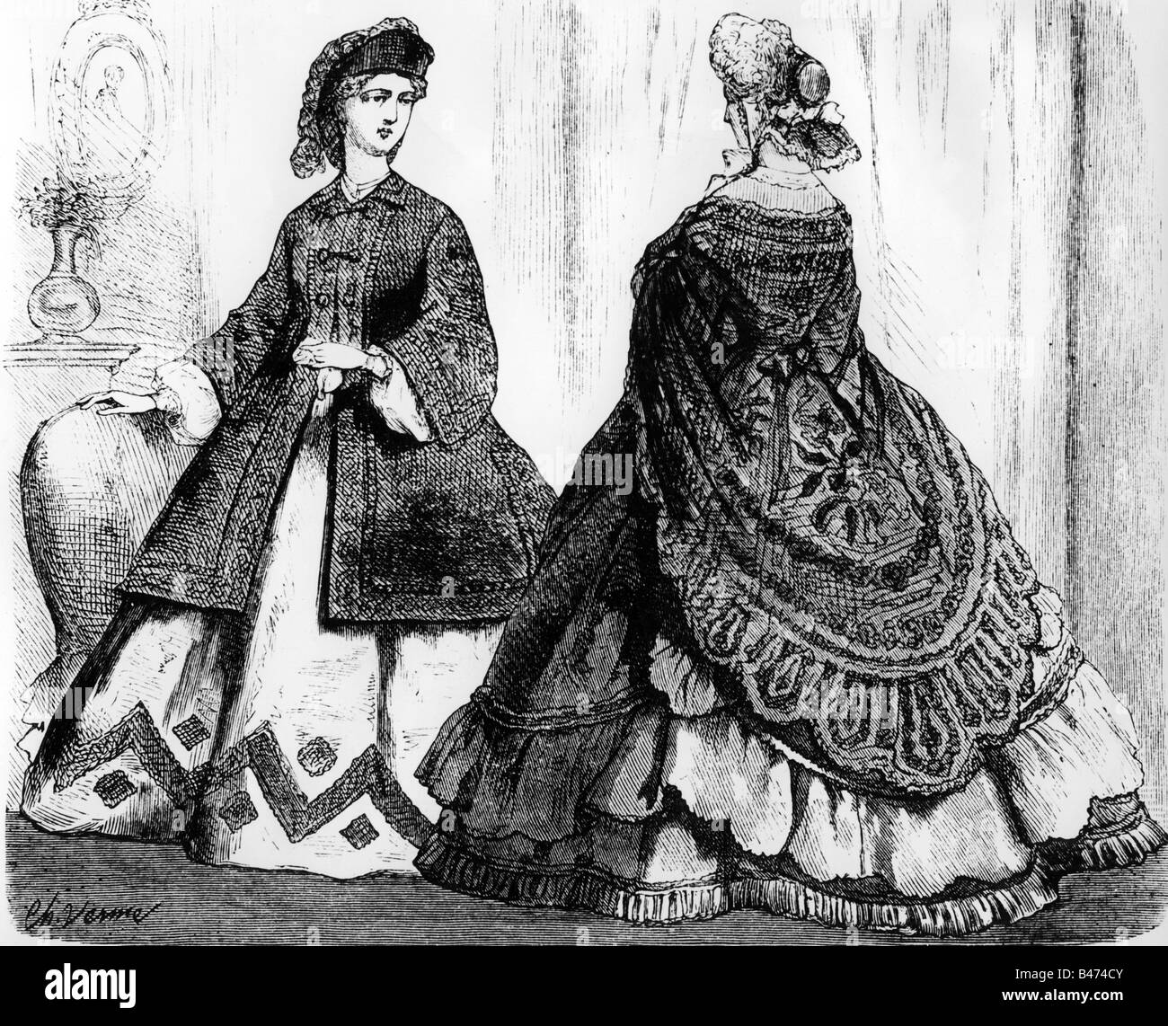 Women Dress Fashion Th Century