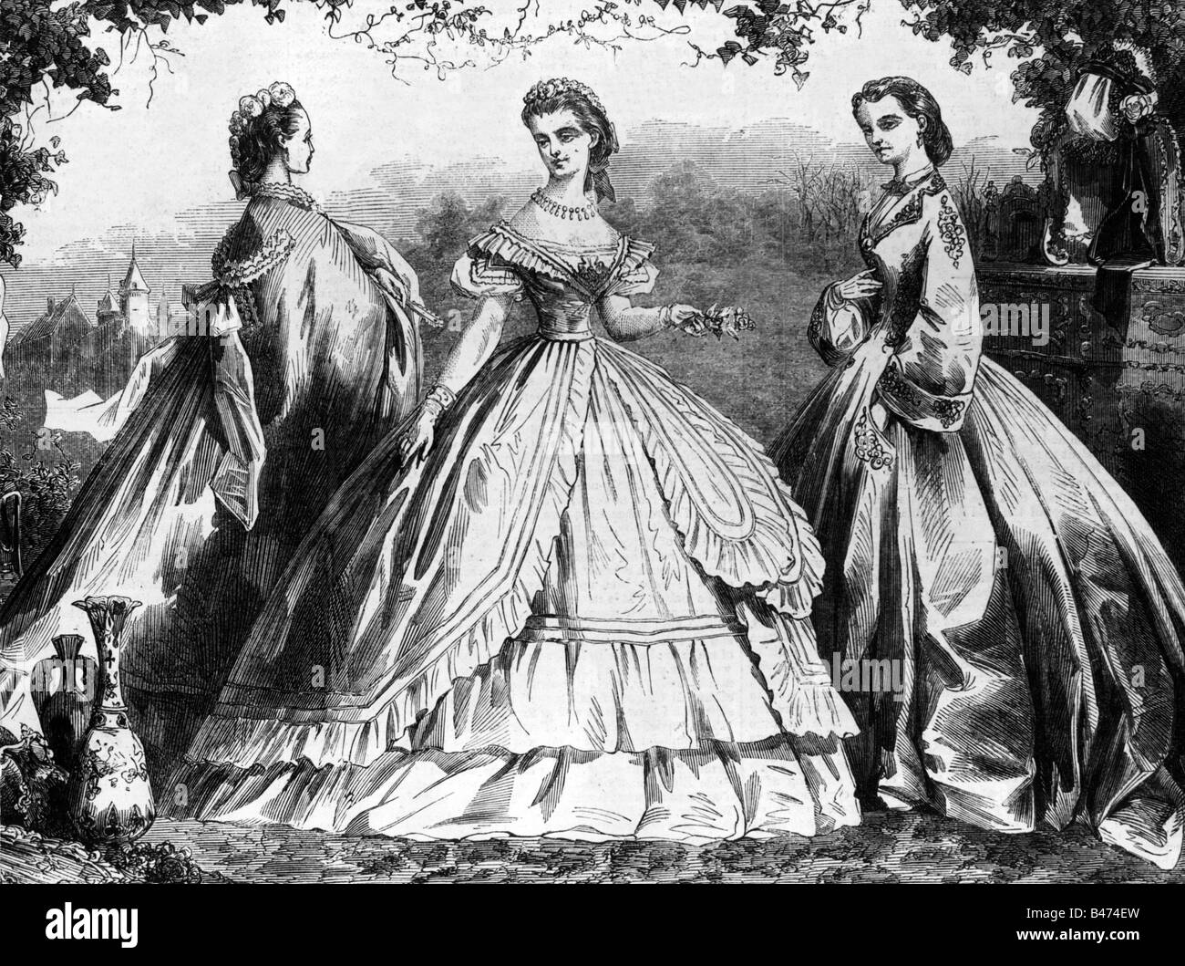Fashion in the 1800s French Fashion History 1800s fashion in france