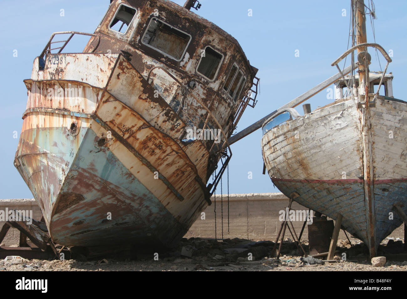 Israel tel aviv jaffa old boats at dry dock at the jaffa for What to do with an old boat