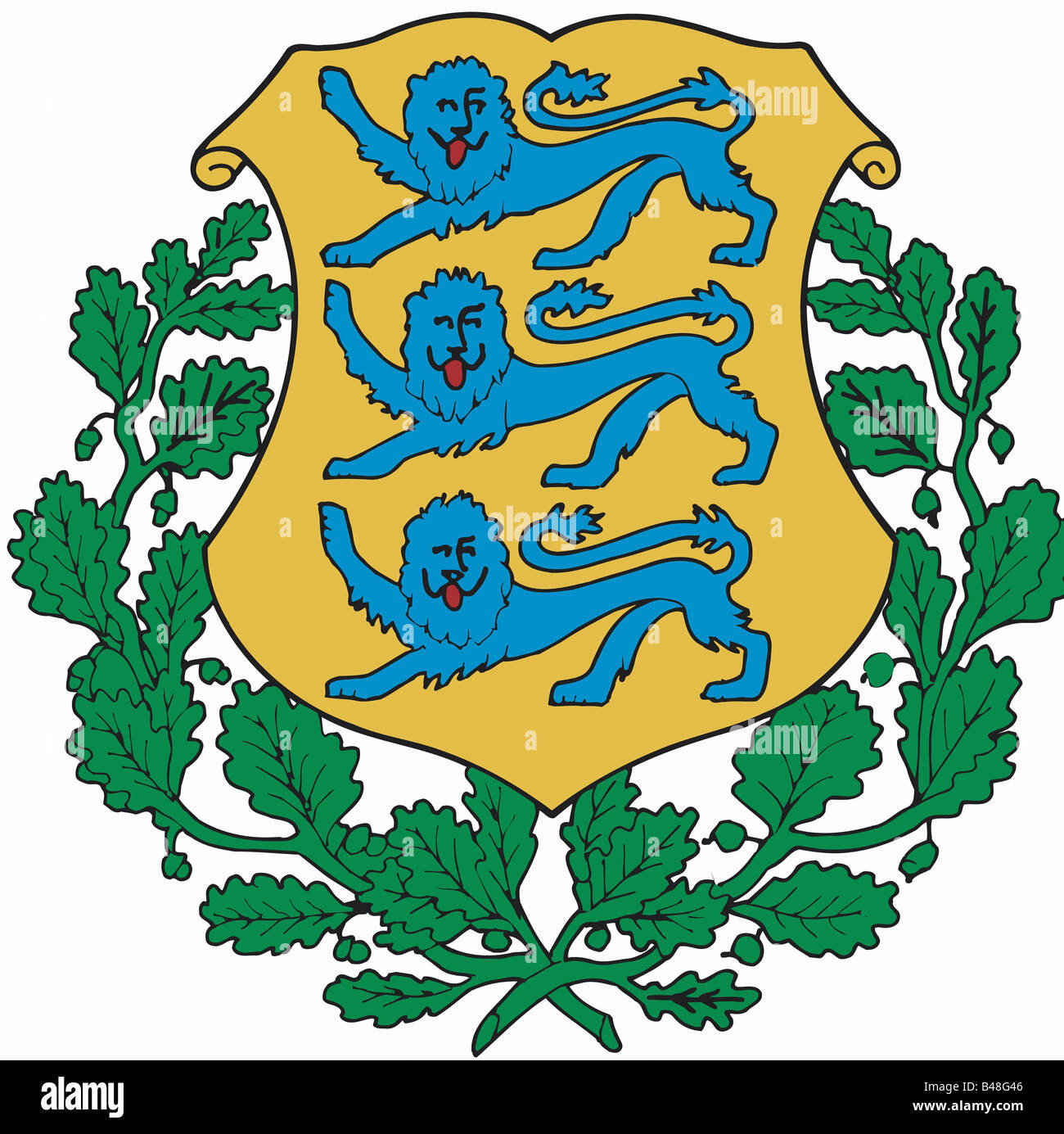 heraldry coat of arms estonia national coat of arms