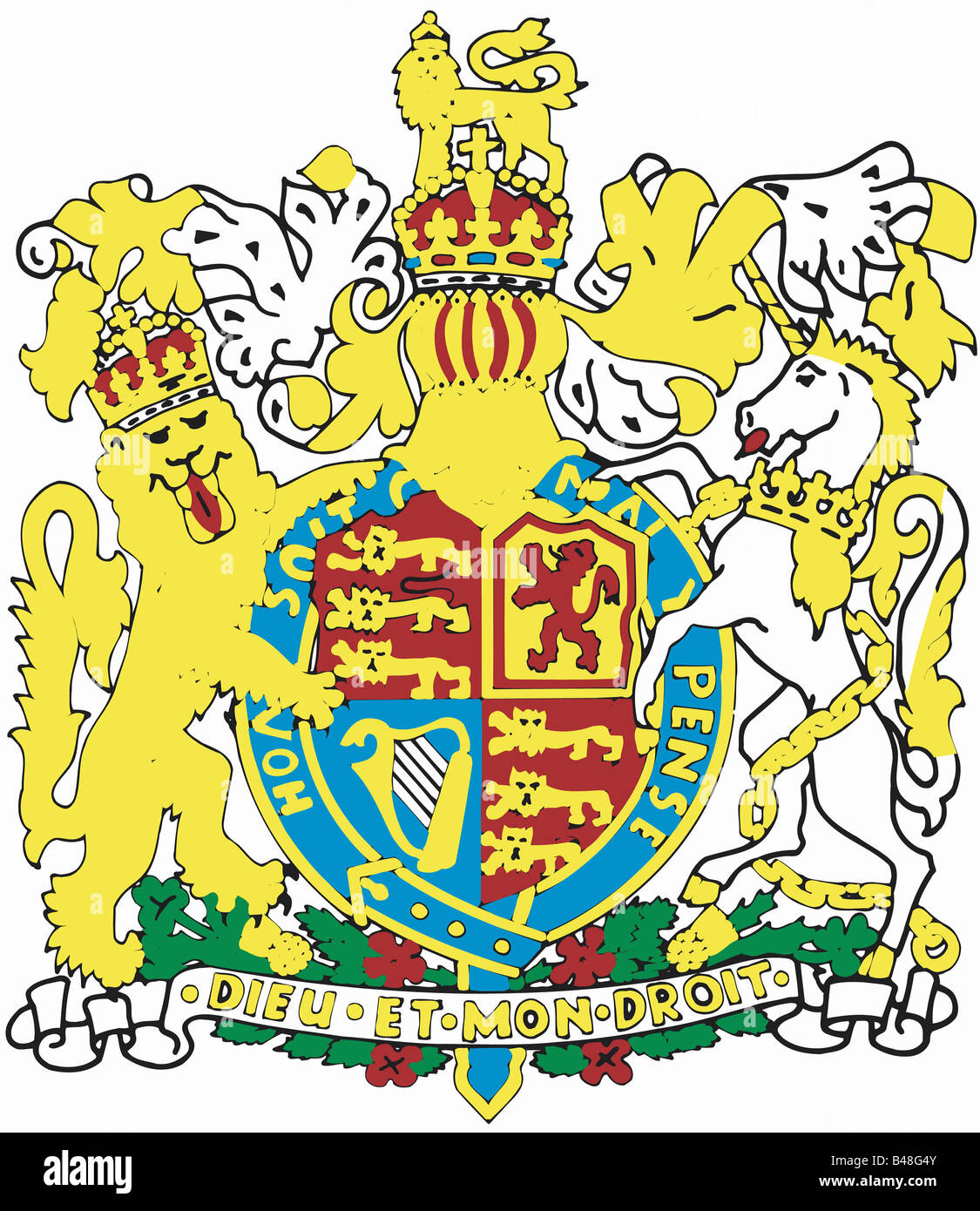 Heraldry coat arms great britain stock photos heraldry coat arms heraldry coat of arms great britain northern ireland national coat of arms buycottarizona Images