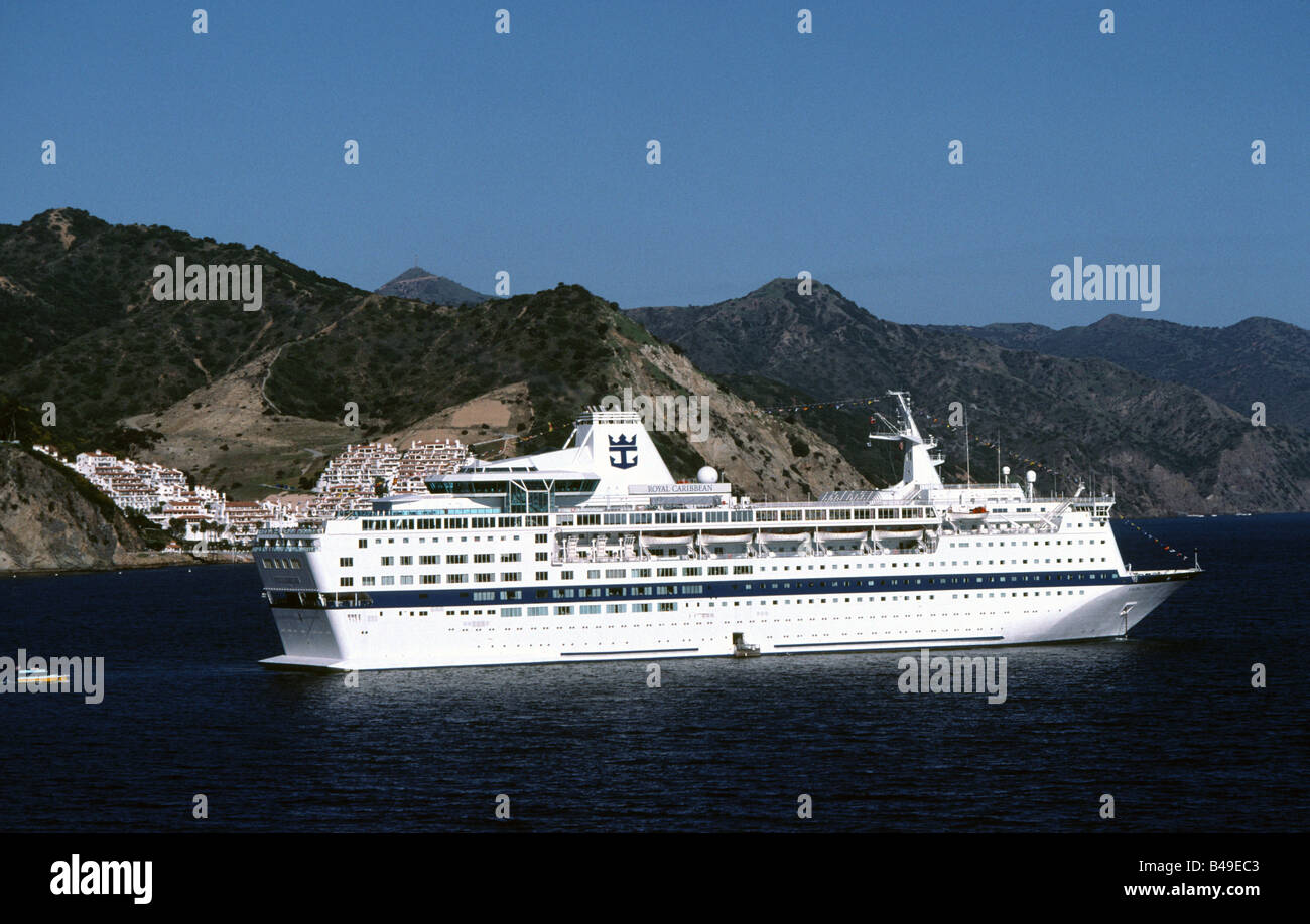 Royal Caribbean Cruise Ship Viking Serenade Catalina