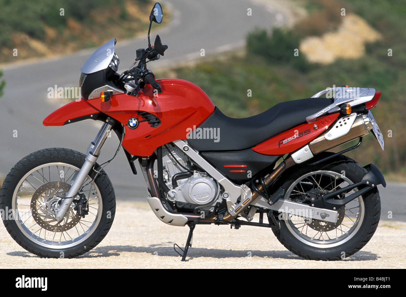 engine cycle enduro bmw f 650 gs red model year 2002. Black Bedroom Furniture Sets. Home Design Ideas