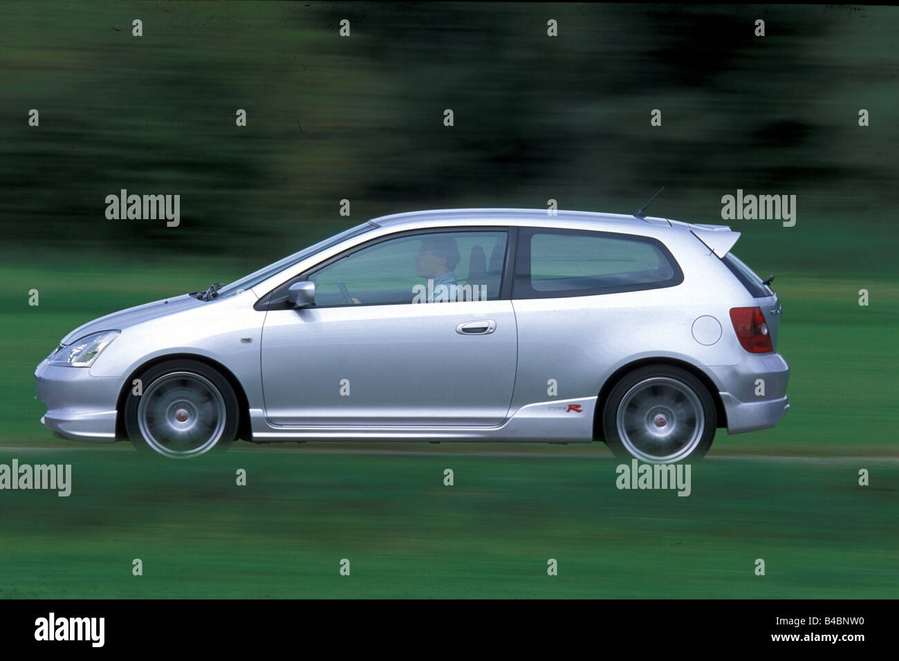 Car, Honda Civic 2.0i Type R, Model Year 2001 , Silver