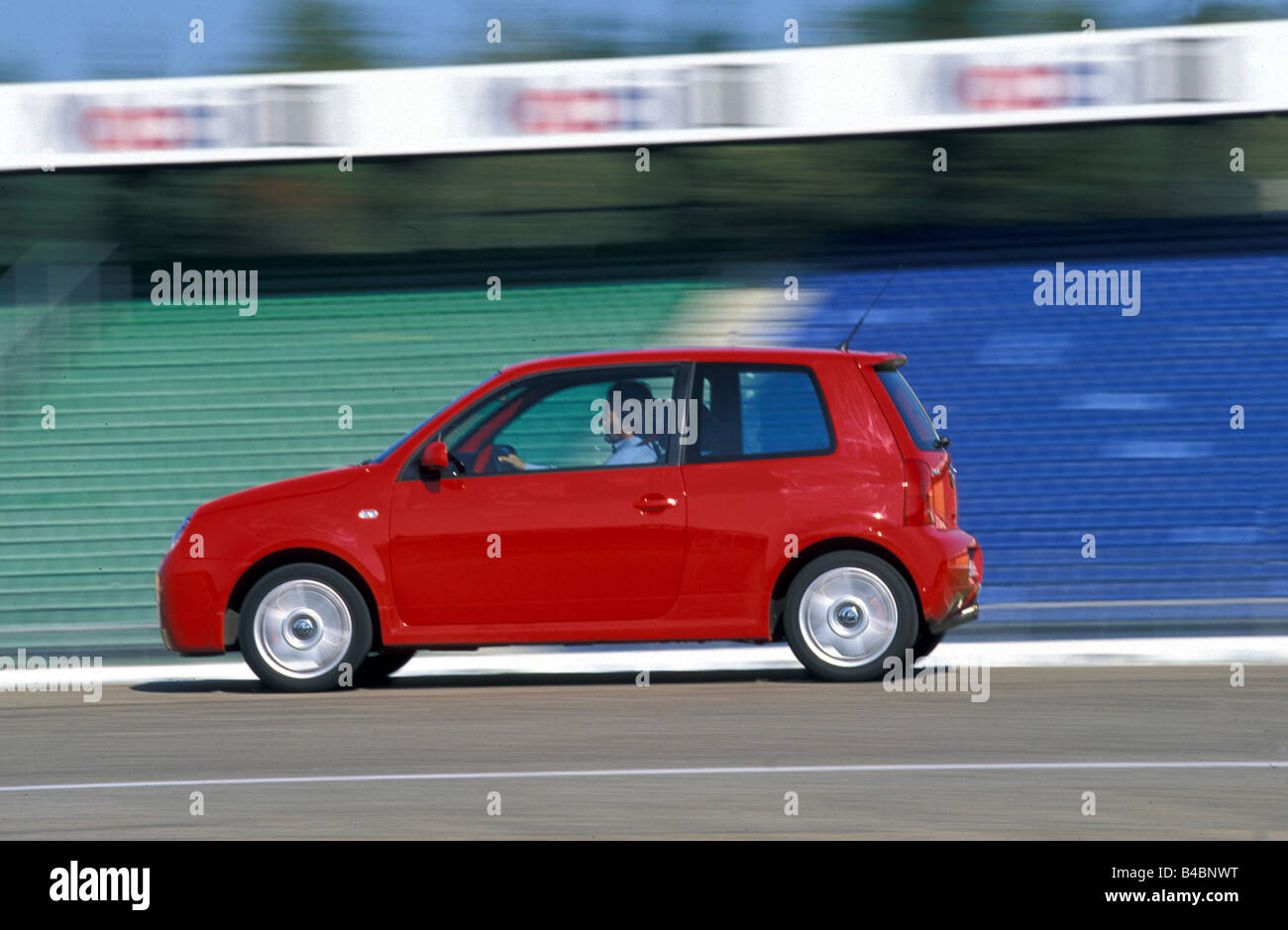 car vw volkswagen lupo gti model year 1998 2003 red miniapprox s stock photo royalty free. Black Bedroom Furniture Sets. Home Design Ideas