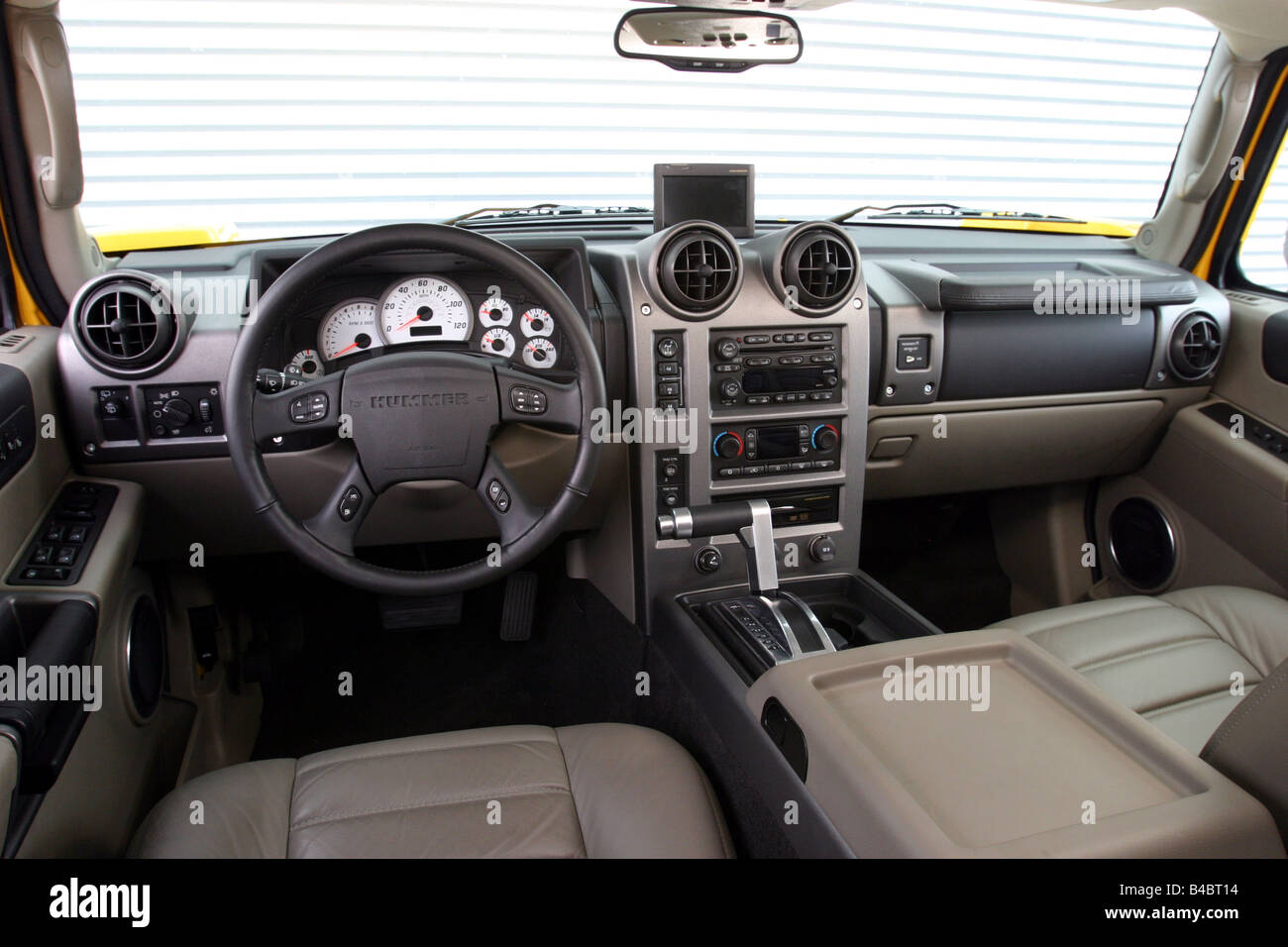 Car Chevrolet Hummer H2 Cross Country Vehicle Model Year 2001 Stock Photo Royalty Free Image